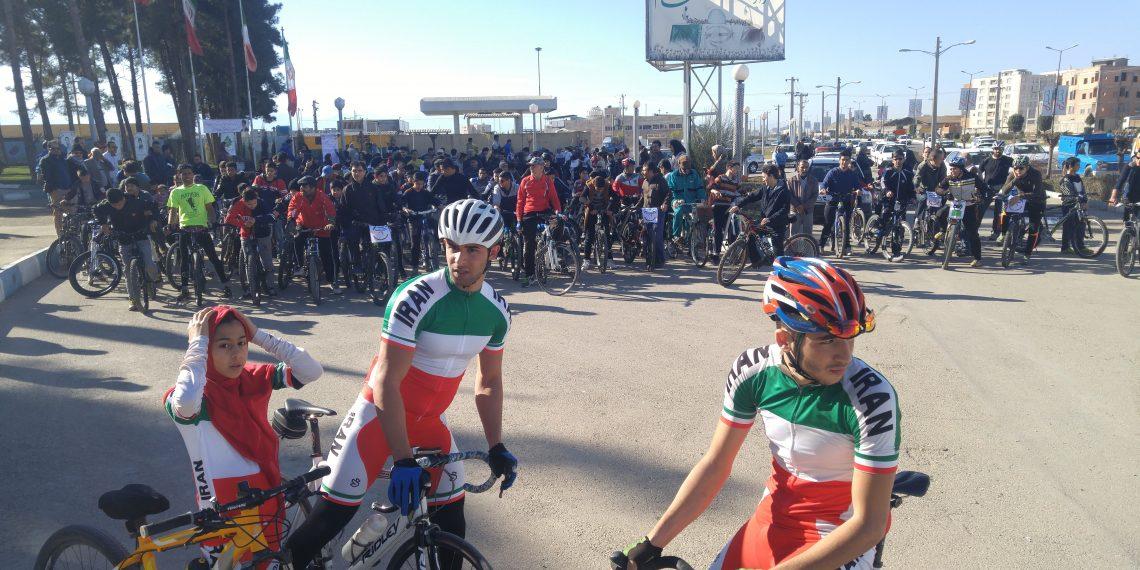 همایش بزرگ دوچرخه سواری به مناسبت روز هوای پاک