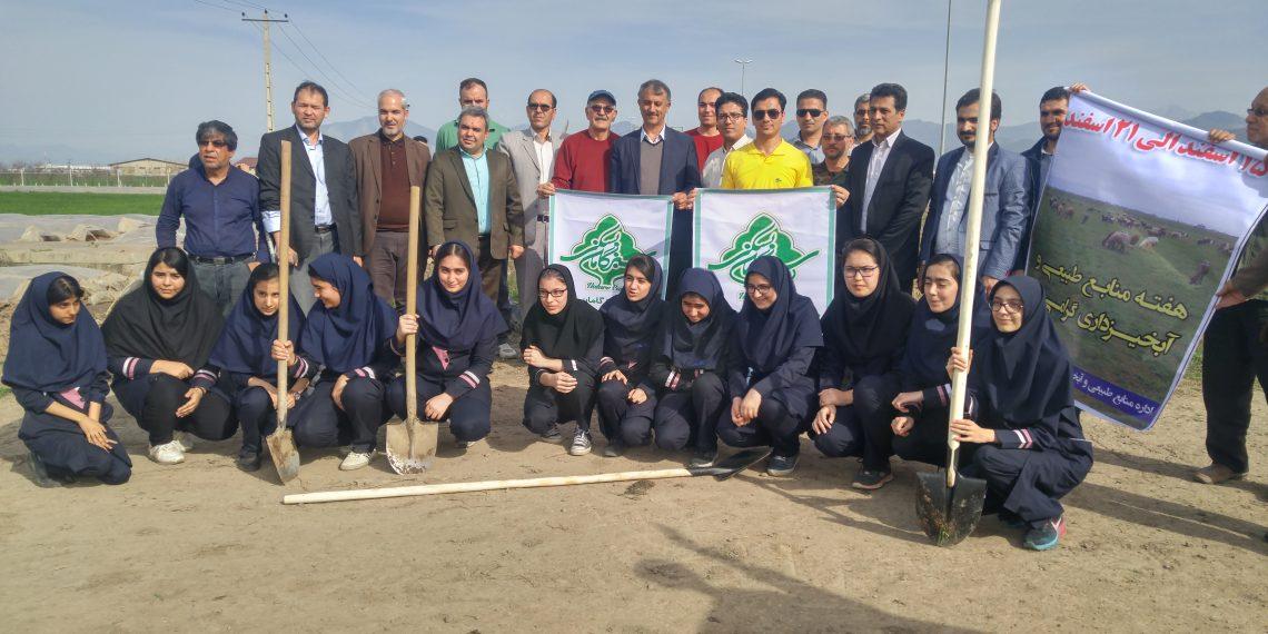 اجرای فاز اول پروژه بزرگ درختکاری